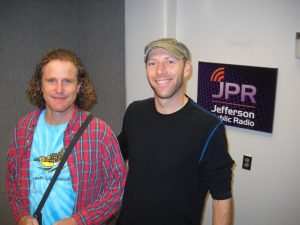 John Alexander and Brandon Breen in the Jefferson Exchange studio