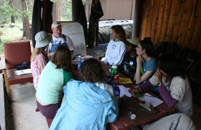 Bird banding workshop Rocky Point cabin 20080718h (72ppi 4x)