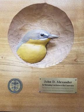 John Alexander PIF Leadership 2007 Award (72ppi 4x)