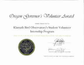 Oregon Governor Volunteer Award (72ppi 4x)