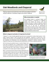 Oak Woodlands DST Cover
