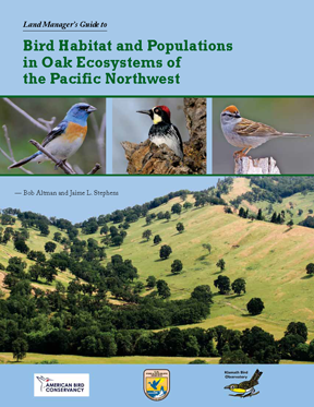 Altman and Stephens 2012 Land managers guide to oak ecosystem cover (72ppi 4x)